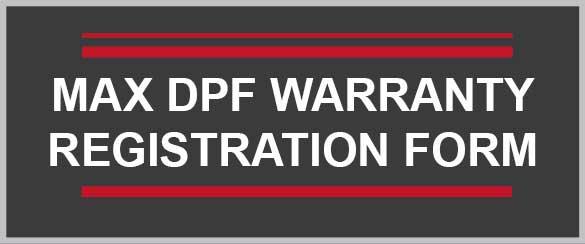 DPF Filter Warranty