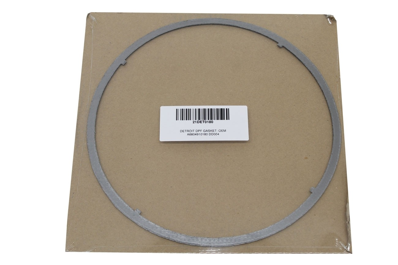 DETROIT DPF GASKET   OEM A6804910180 DD004 INDIVIDUALLY PACKAGED