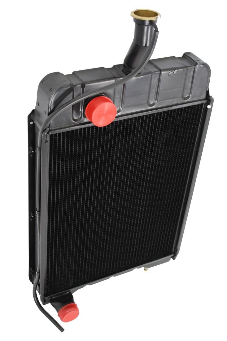 Case IH 930 Comfort King Radiator Angled View.