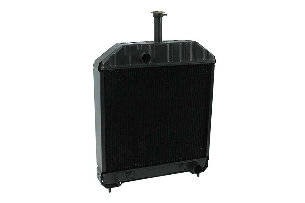 Ford New Holland Tractor Radiator Angled View.