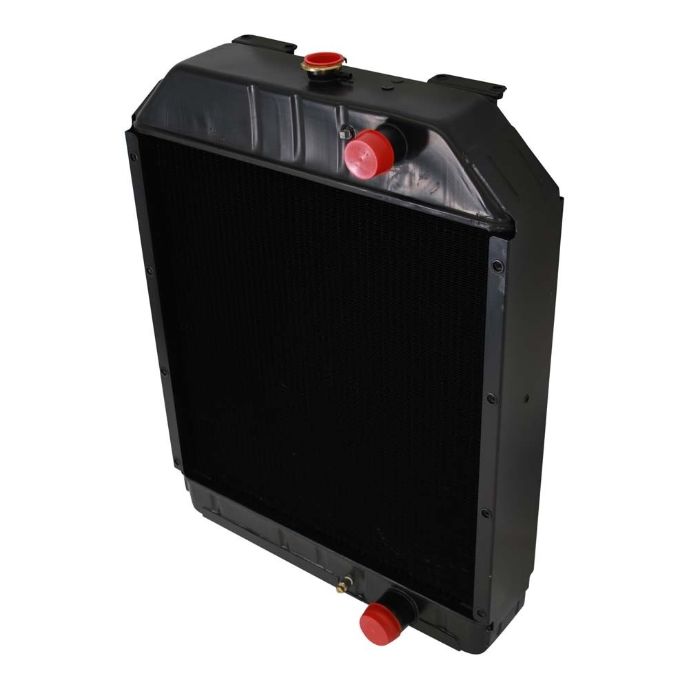 Case IH A171652 A171653 Radiator Angled View.