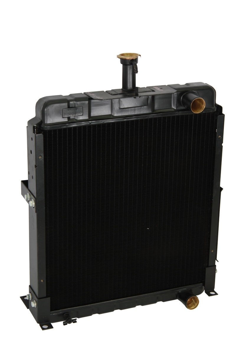 Case IH Diesel Tractor Radiator Angled View.