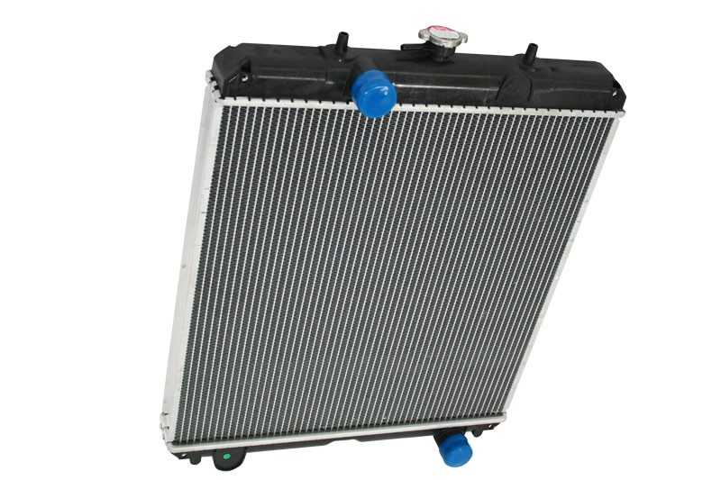 Case IH Ford New Holland Aluminum Radiator Angled View.