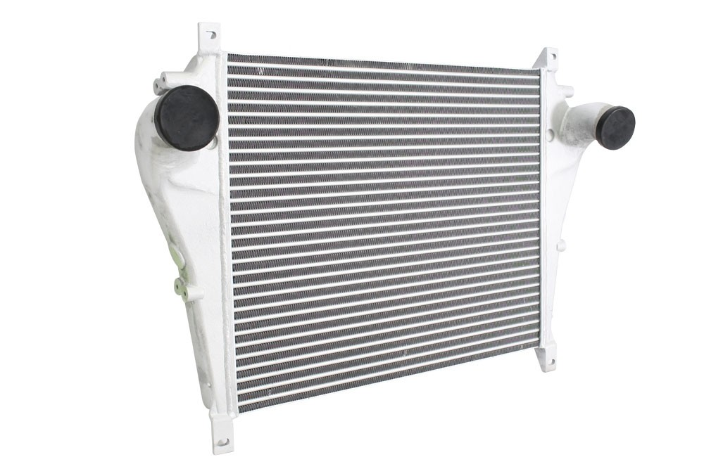 VOLVO | CHARGE AIR COOLER: FLANGED INLET / OUTLET CONNECTIONS