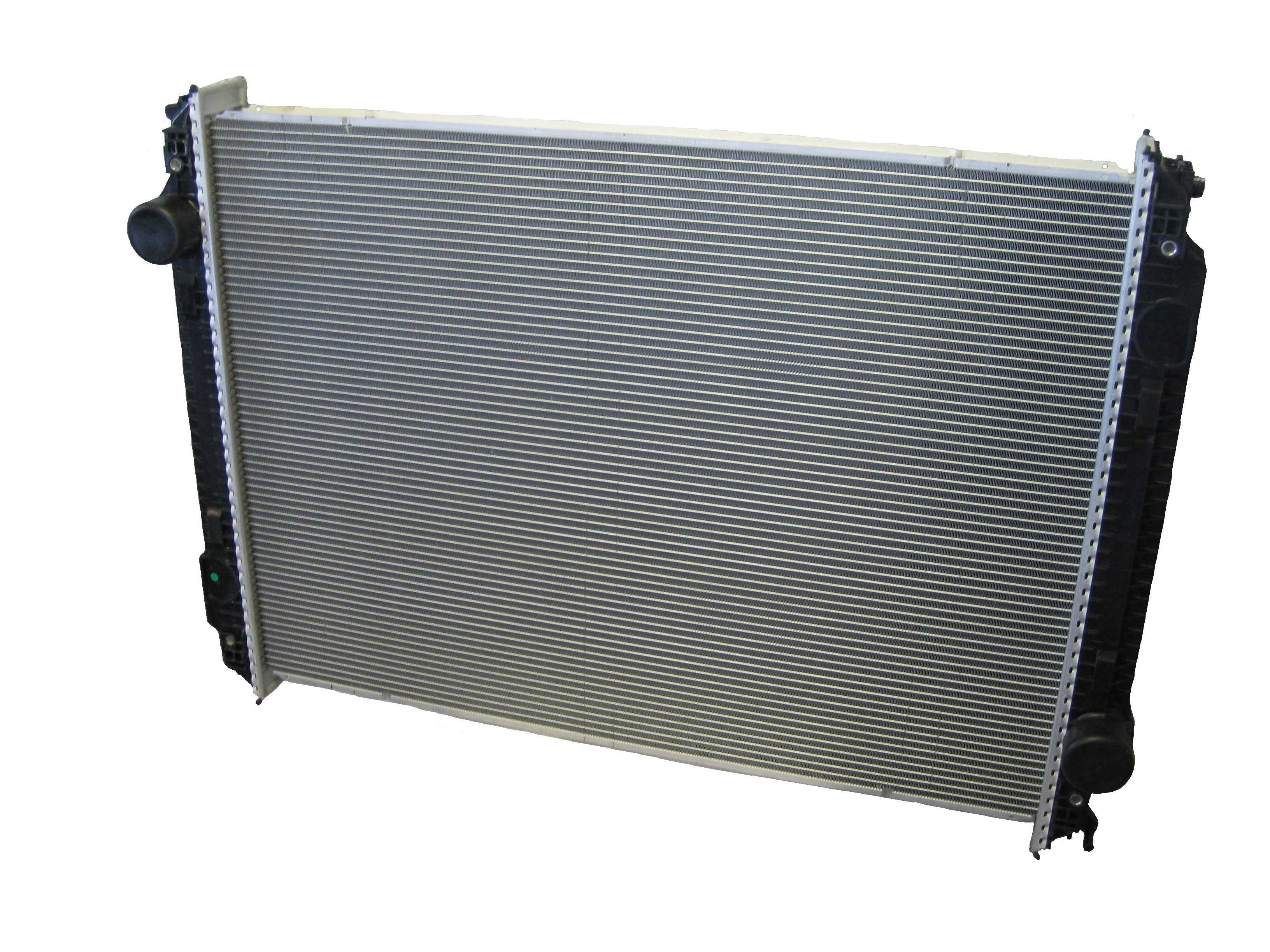 Freightliner FLD Century Business Radiator Front View.