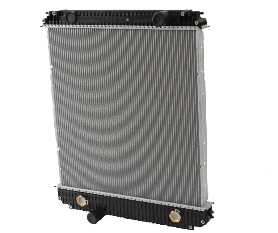Ford Sterling B Serie F Series Radiator With Oil Cooler Front View.