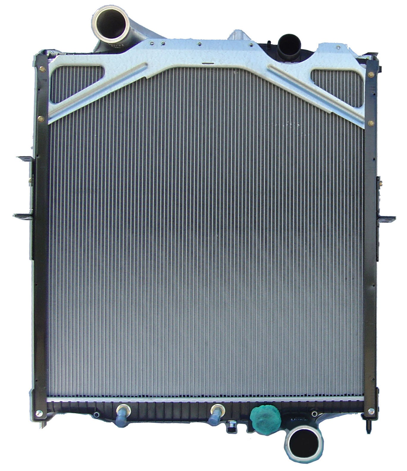 Volvo Complete Cooling Pack Radiator Charge Air Cooler Condenser VN Series Front View.