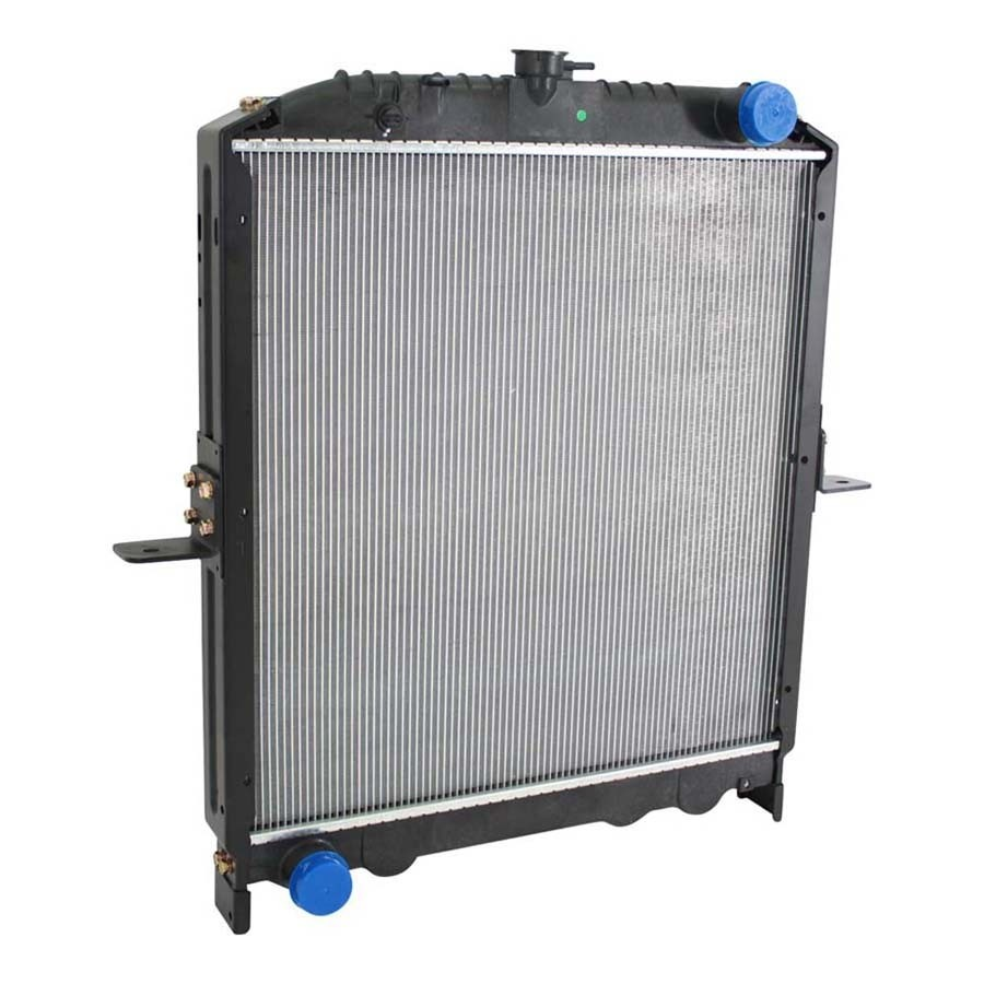 Nissan Radiator With Frame 2005-2007 UD Trucks Angled View.