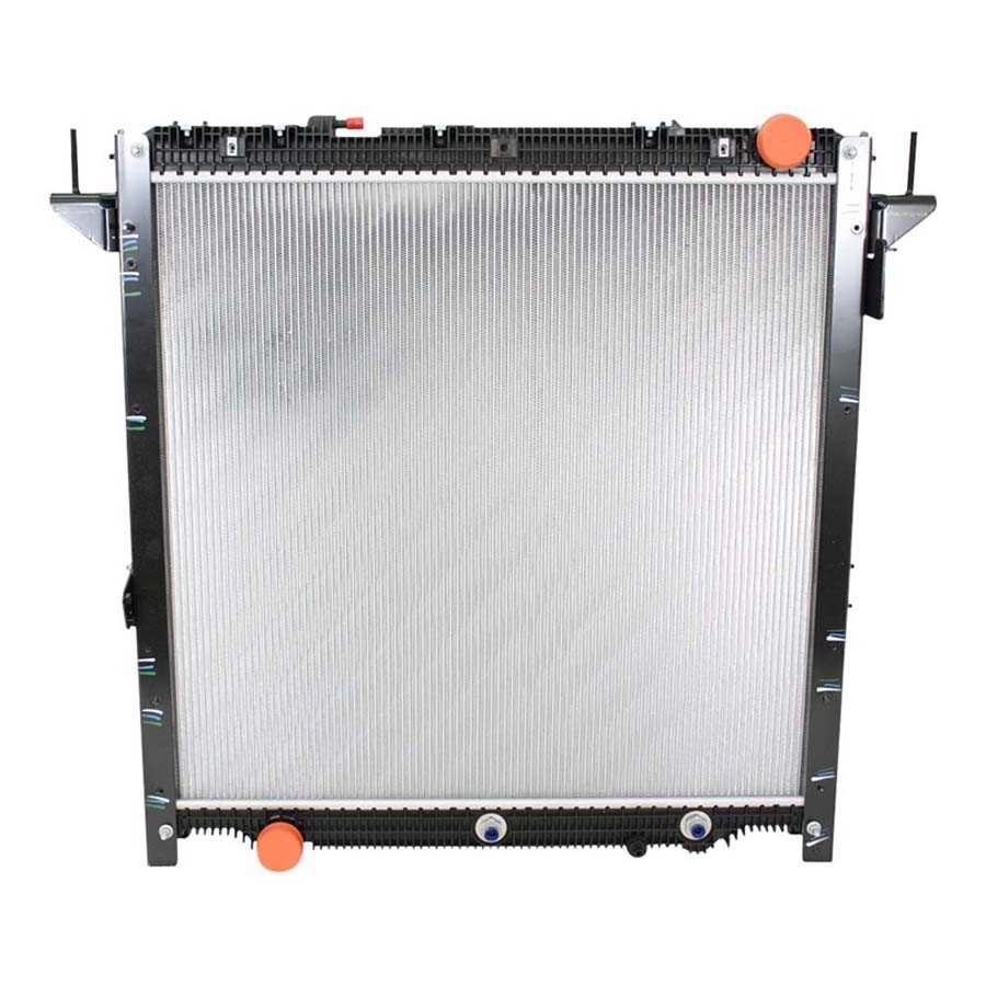 Freightliner Framed Radiator 2017 And Newer Cascadia Front View.