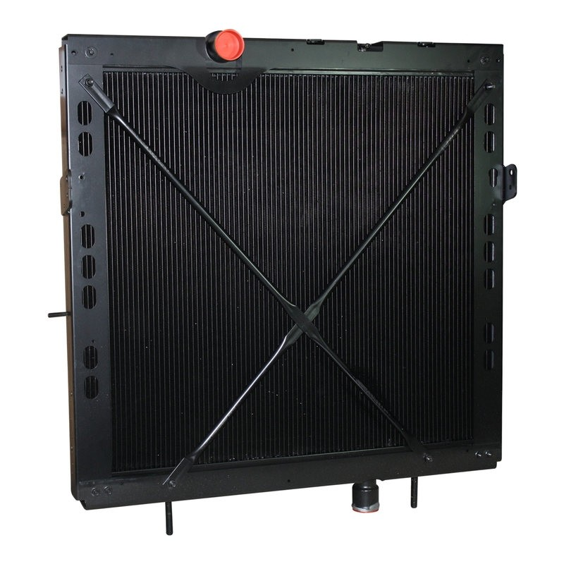Kenworth Peterbilt Radiator With Frame Front Angle.
