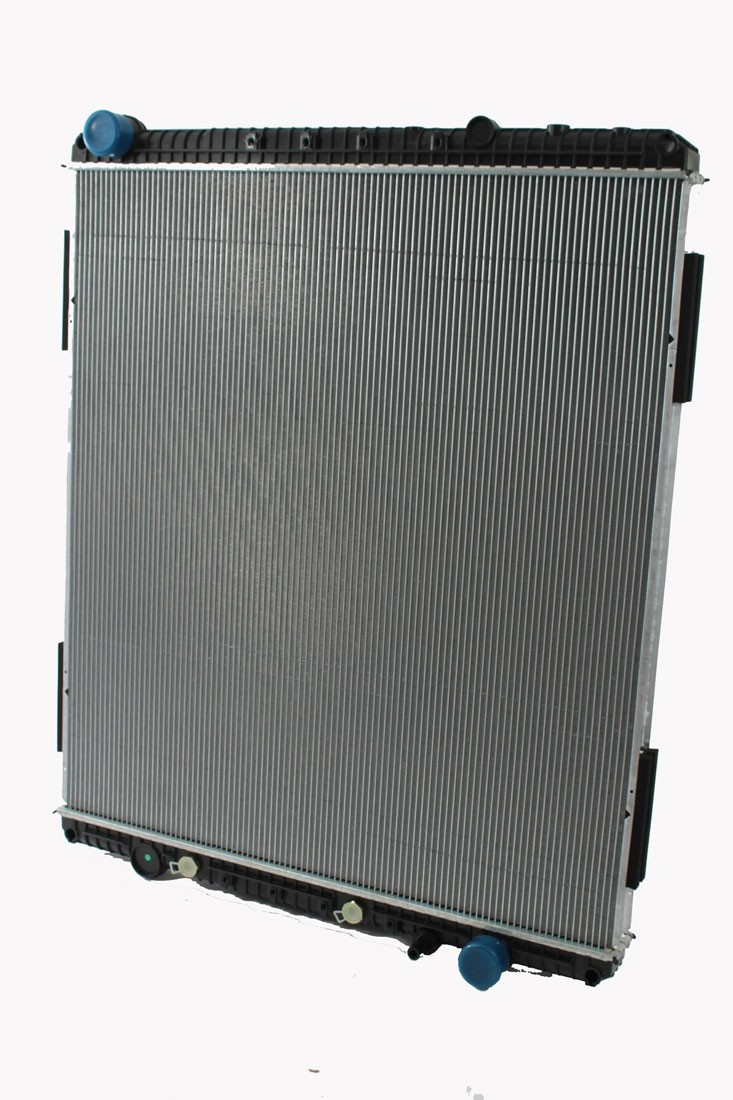 """Freightliner Sterling 2008 Cascadia Radiator 42 1/8"""" Core Height Front View."""