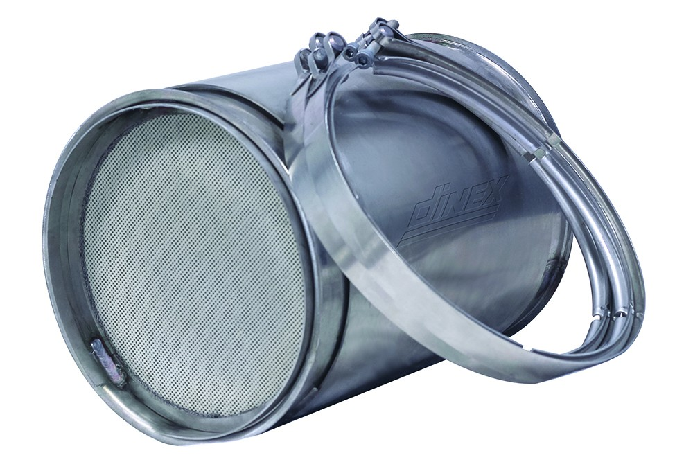 CUMMINS ISB 6.7   PACCAR PX6 DIESEL PARTICULATE FILTER  NEW DPF FOR OEM 4965287NX