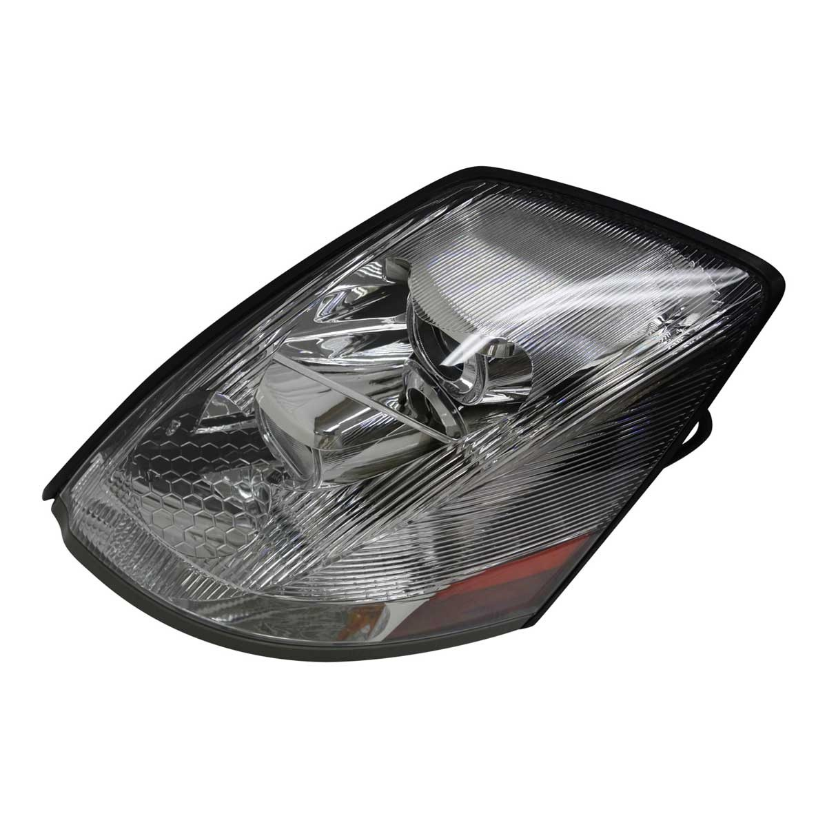 Volvo VN LED U-Bar Headlight Assembly Driver Side View.