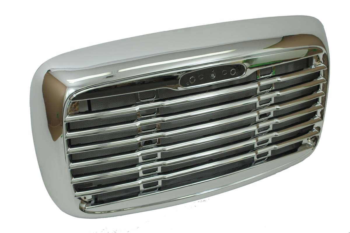 Freightliner Columbia grille top view.