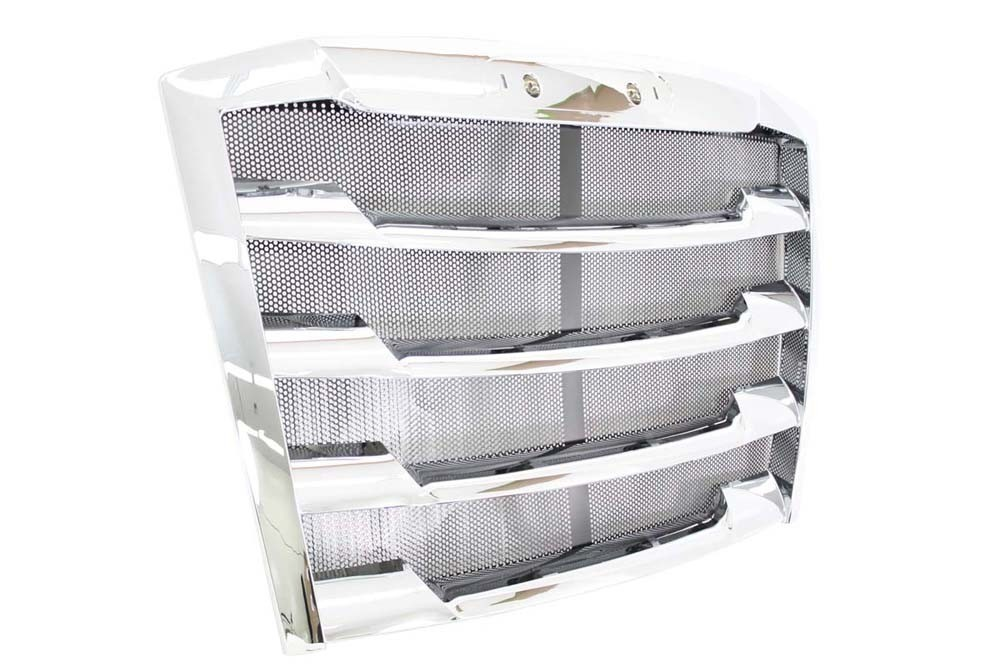 Freightliner Cascadia New Generation Chrome Grille with Bug Screen | 17-20801-001