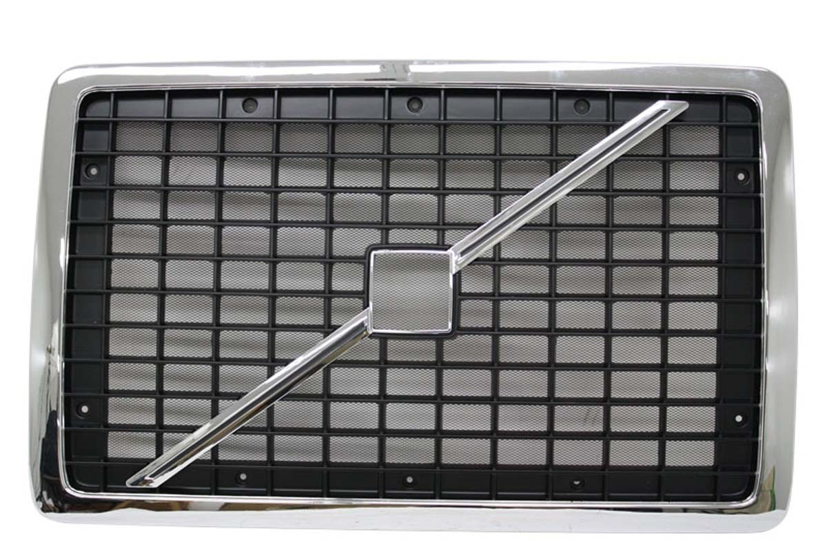Front view Volvo VNL grille 20505759.