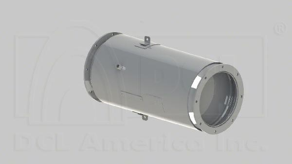 HINO 6CYL JO8E DIESEL PARTICULATE FILTER DOC CATALYST  OEM S1805E0270