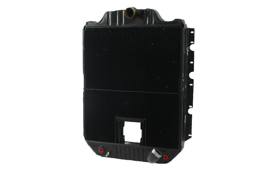 International Navistar 4700 Series With Crankbox Radiator Front View.