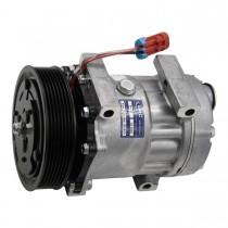 Sanden Type AC Compressor 130MM Front Side.