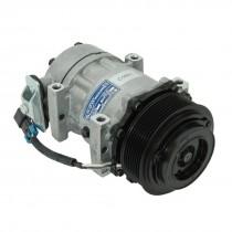 Peterbilt Sanden Type AC Compressor Front.