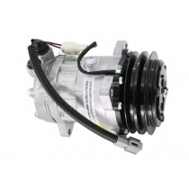 Ford F700 Sanden Type AC Compressor Front.