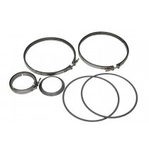 Complete Cummins Clamp And Gasket Kit.