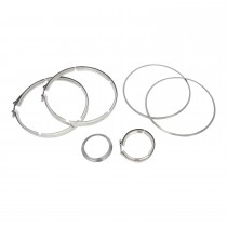 Cummins Paccar DPF Gasket Clamp Kit Complete.