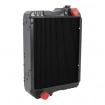 Case IH Tractor Radiator C CX Side View.