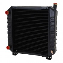 Ford New Holland Tractor Radiator Front View.