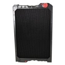 Case IH Tractor Radiator Front View.