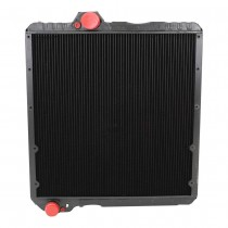 Case IH Ford New Holland Tractor Radiator Front View.