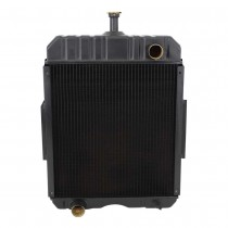 IH Tractor Gas LP Radiator Front View.