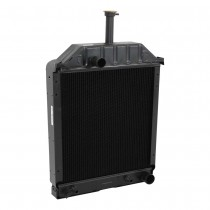 Ford New Holland 550 555 555A 555B Radiator Angled View.