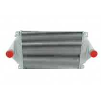 Volvo Cab With Detroit 60 Series Engine Charge Air Cooler Front.