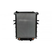 Freightliner Thomas Bus Radiator With Frame Front View.