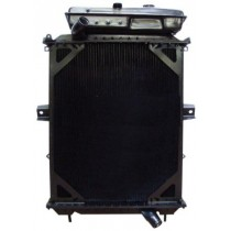 Kenworth 4 Row Both Together 2006 & Newer T600 Radiator Front View.