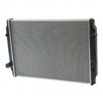Freightliner 1999-2005 Motorhome Chassis Radiator Front View.