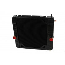 International Ford 3000-4600 F650 F700 Radiator Front View.