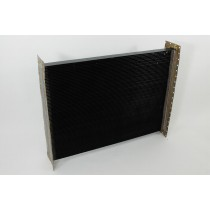 KENWORTH HEAVY DUTY DIMPLED TUBE RADIATOR CORE: 292 TUBES, 16 FINS/INCH, 40 BOLT HEADER PLATE