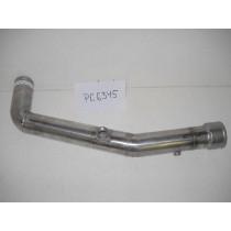 STAINLESS STEEL LOWER COOLANT TUBE: PETERBILT 386 C13 ACCERT ENGINE: F66-6345
