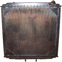 Western Star 4 Row Radiator 4900 5900 6900 Series Front View.