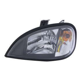 FREIGHTLINER COLUMBIA HALOGEN HEADLIGHT ASSEMBLY | BLACK HOUSING | DRIVER SIDE | A0651041001