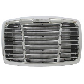 Freightliner Cascadia Chrome Grille With Bug Screen   A17-19112-000