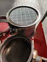 DPF water cleaning
