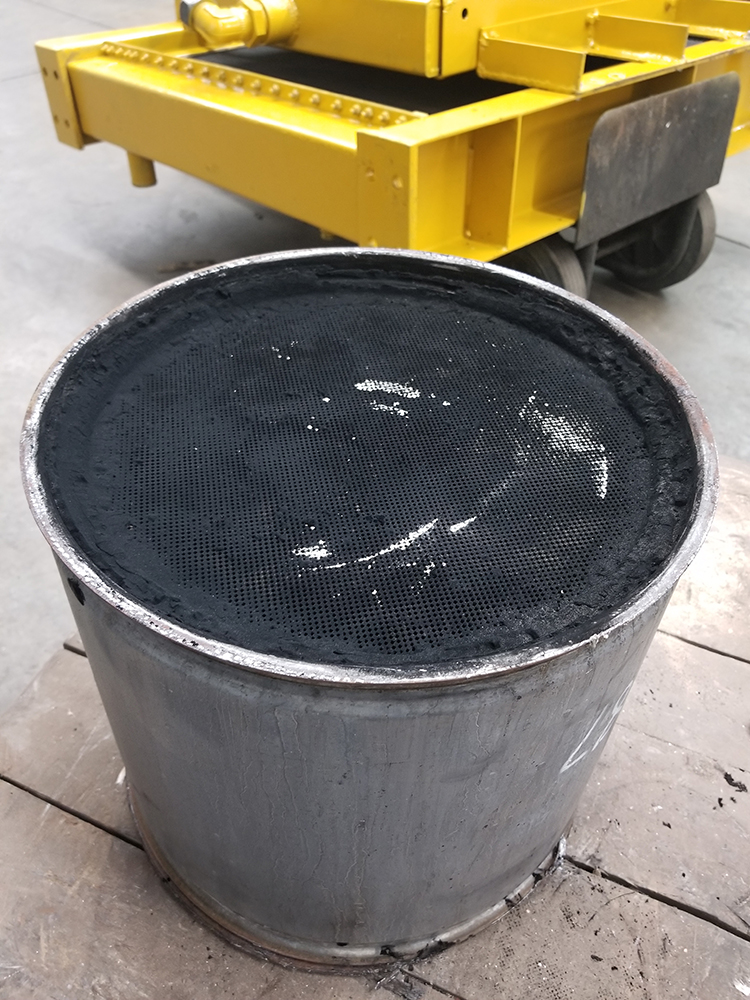diesel particulate filter cleaning
